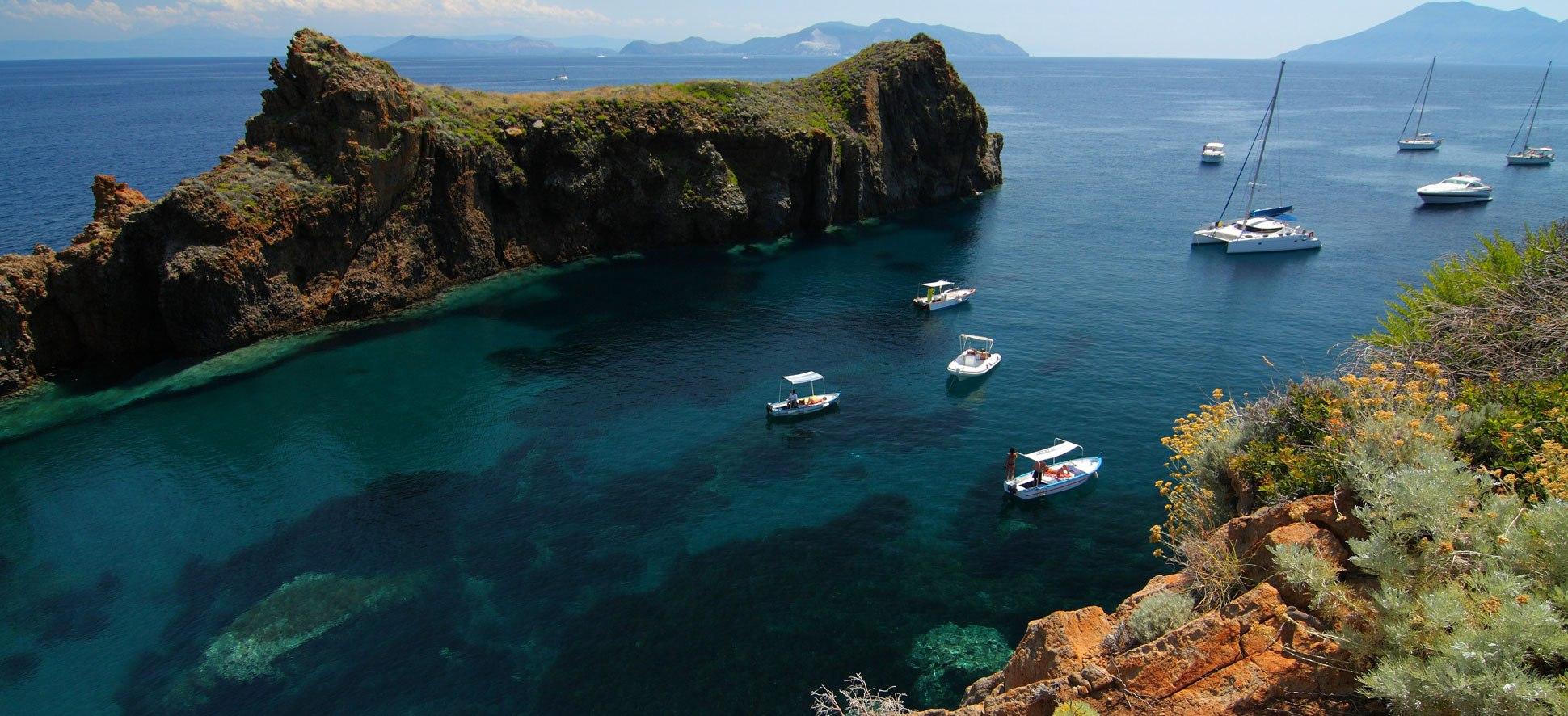липарские острова на яхте