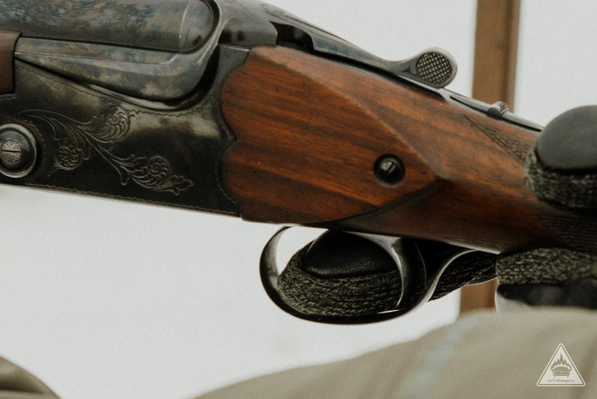 ружье для стрельбы по тарелочкам