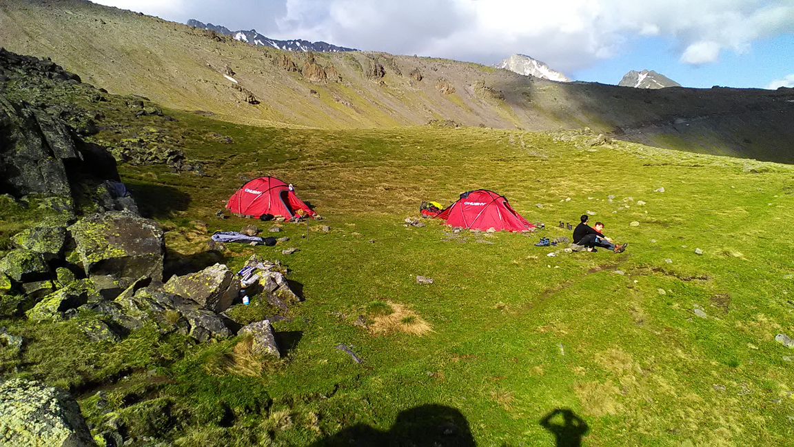 our tent camp