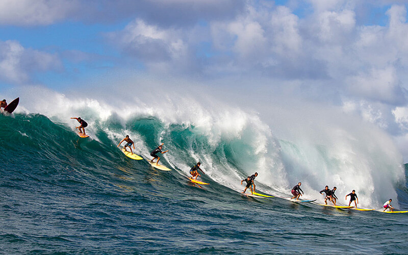 серфинг на бали фото океан