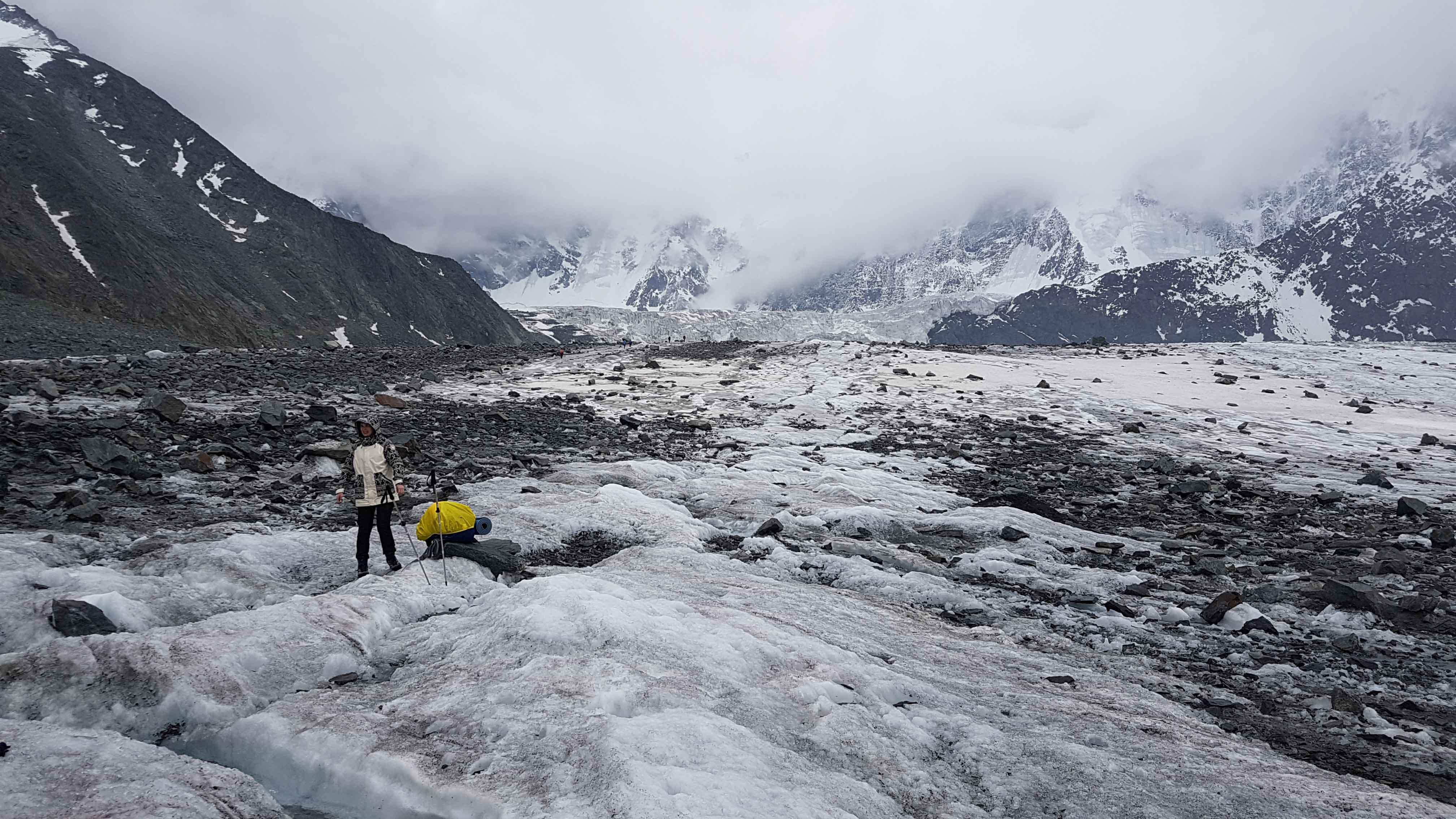 фотография ледника Аккем