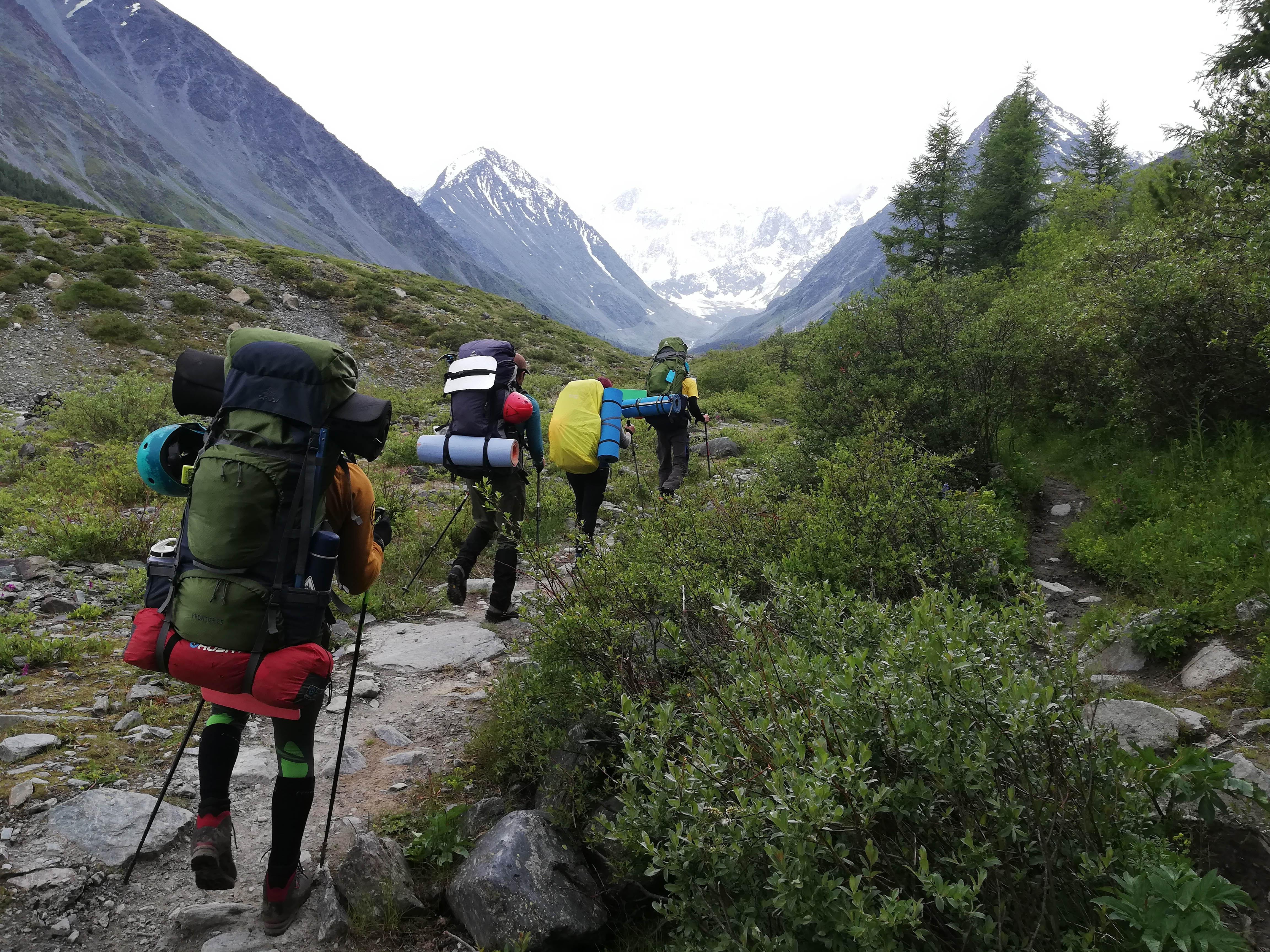 Гора Белуха на Алтае - отчет и отзыв о восхождении на Белуху (4509)