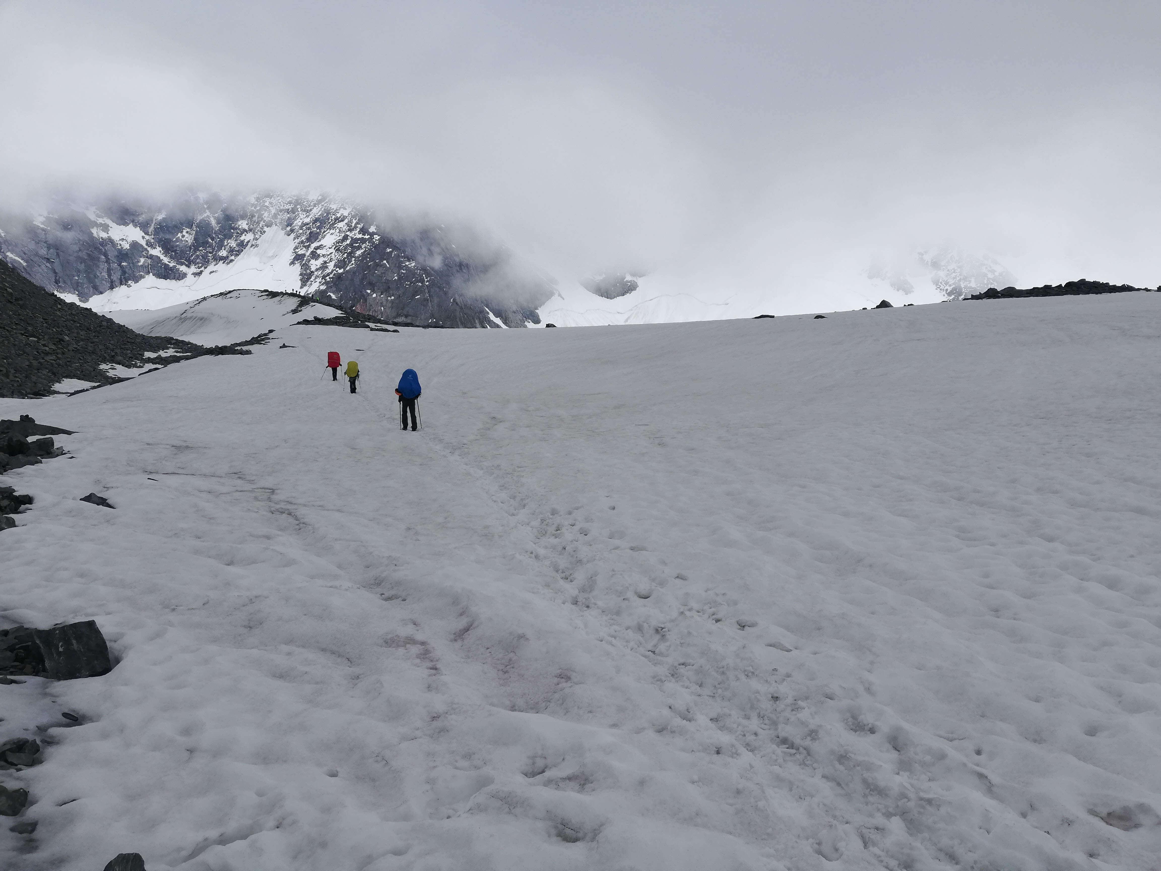ледник аккем фото