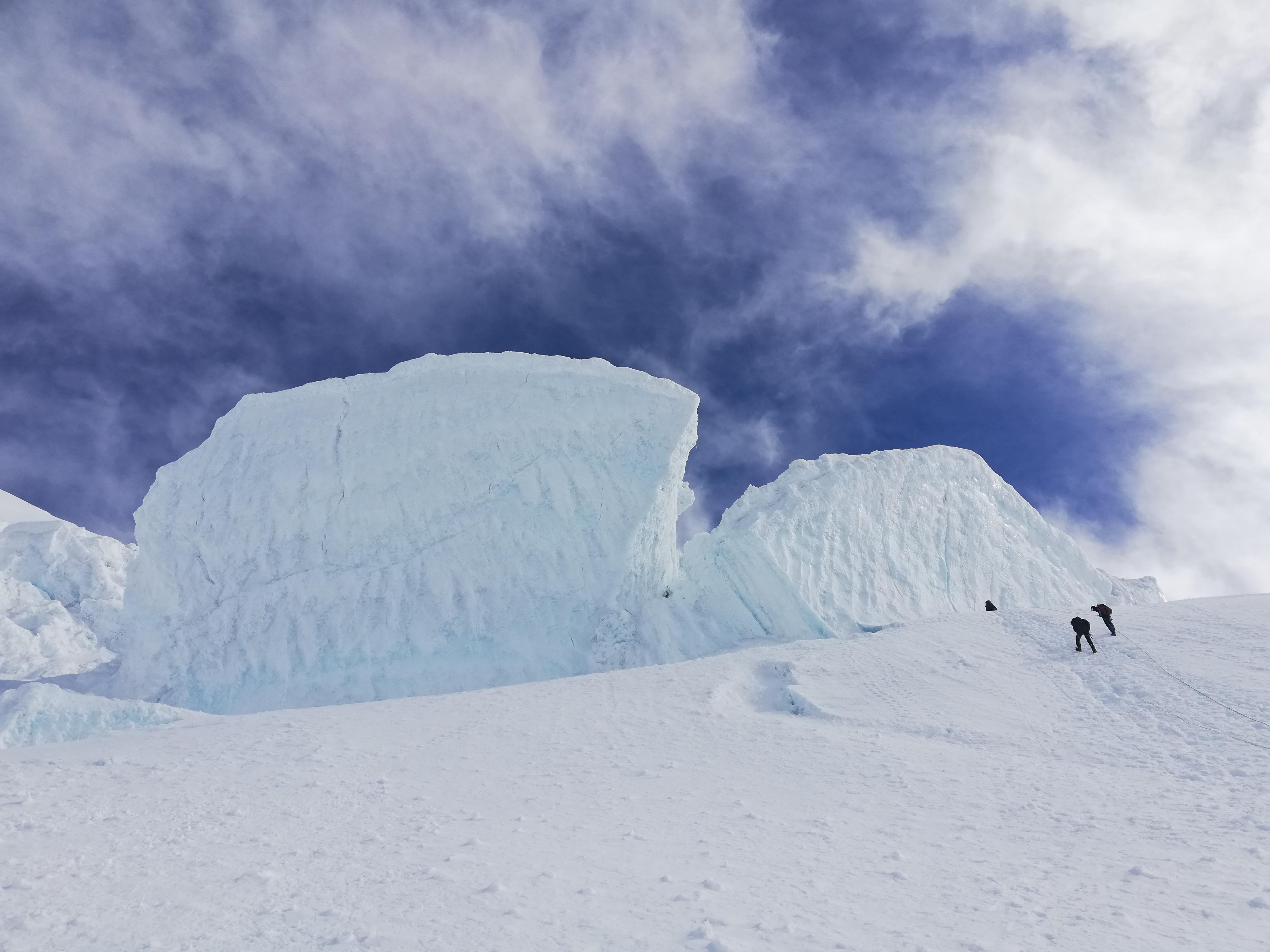 ледник на белухе