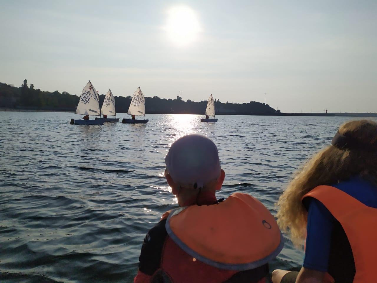 паруса и ветер на балтике