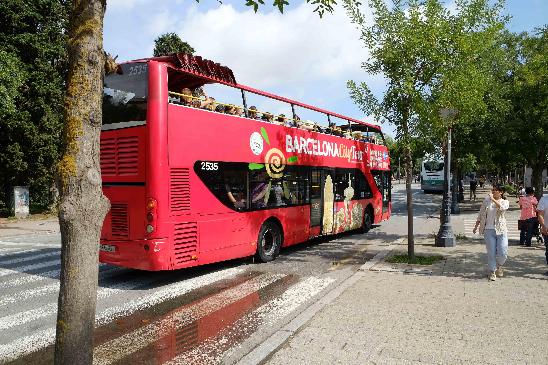барселона туристический автобус