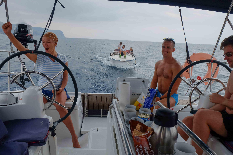 спасение в Балеарском море