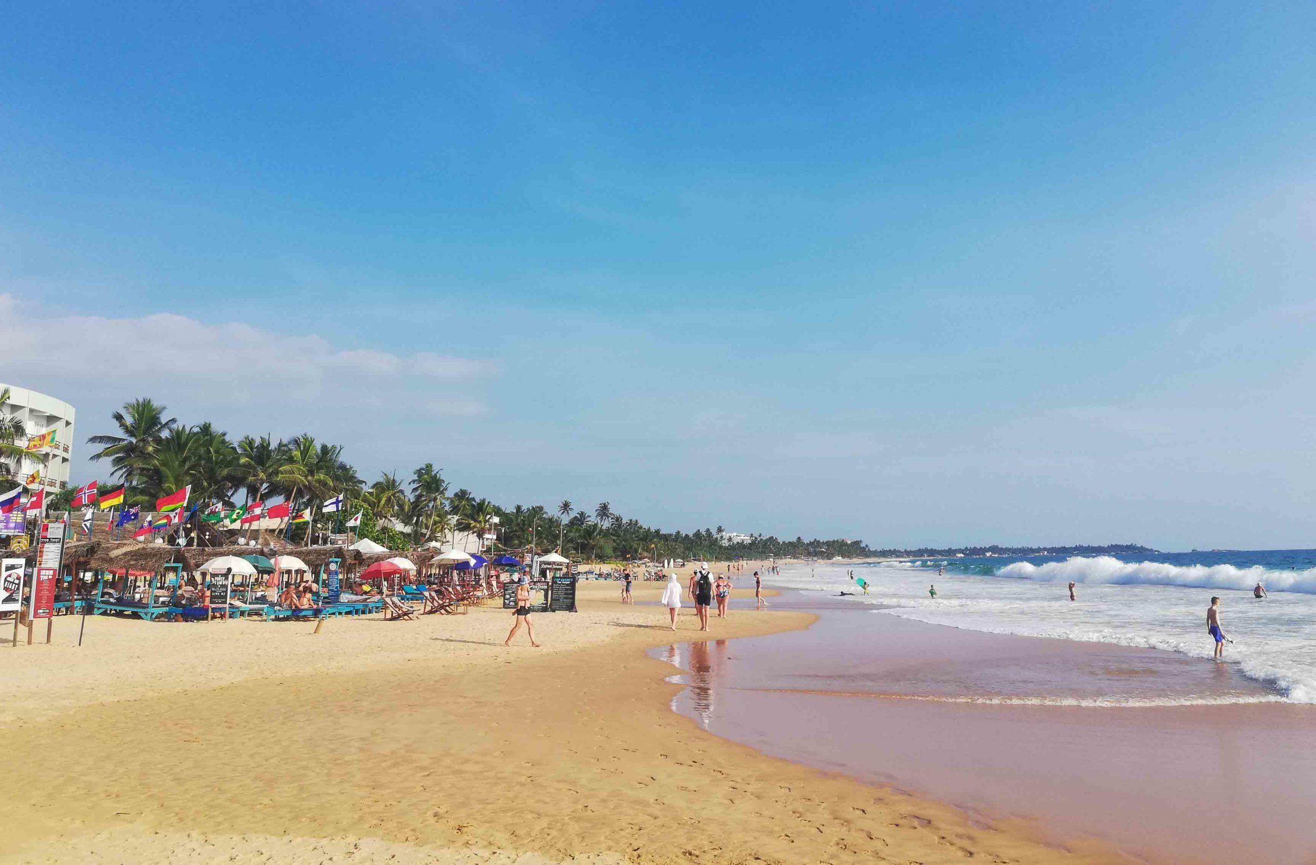 хиккадува пляж фото