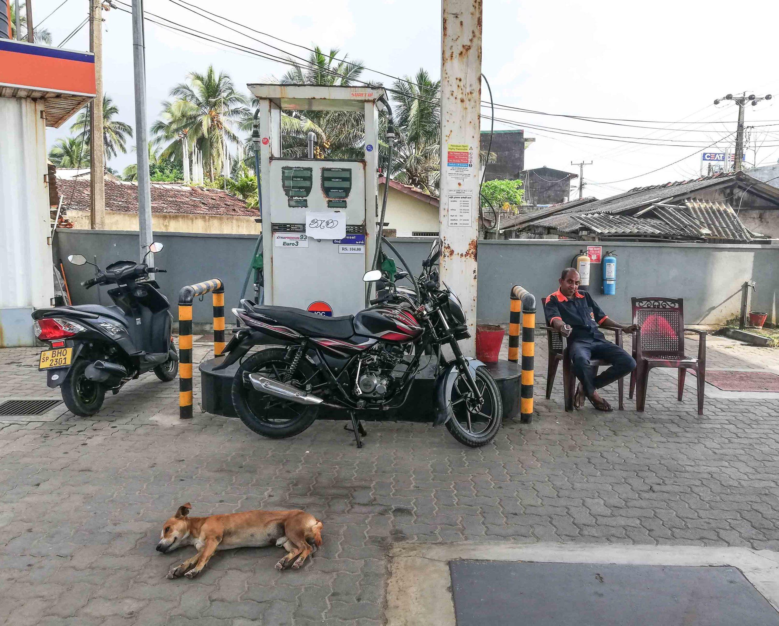 Унаватуна заправка бензин фото