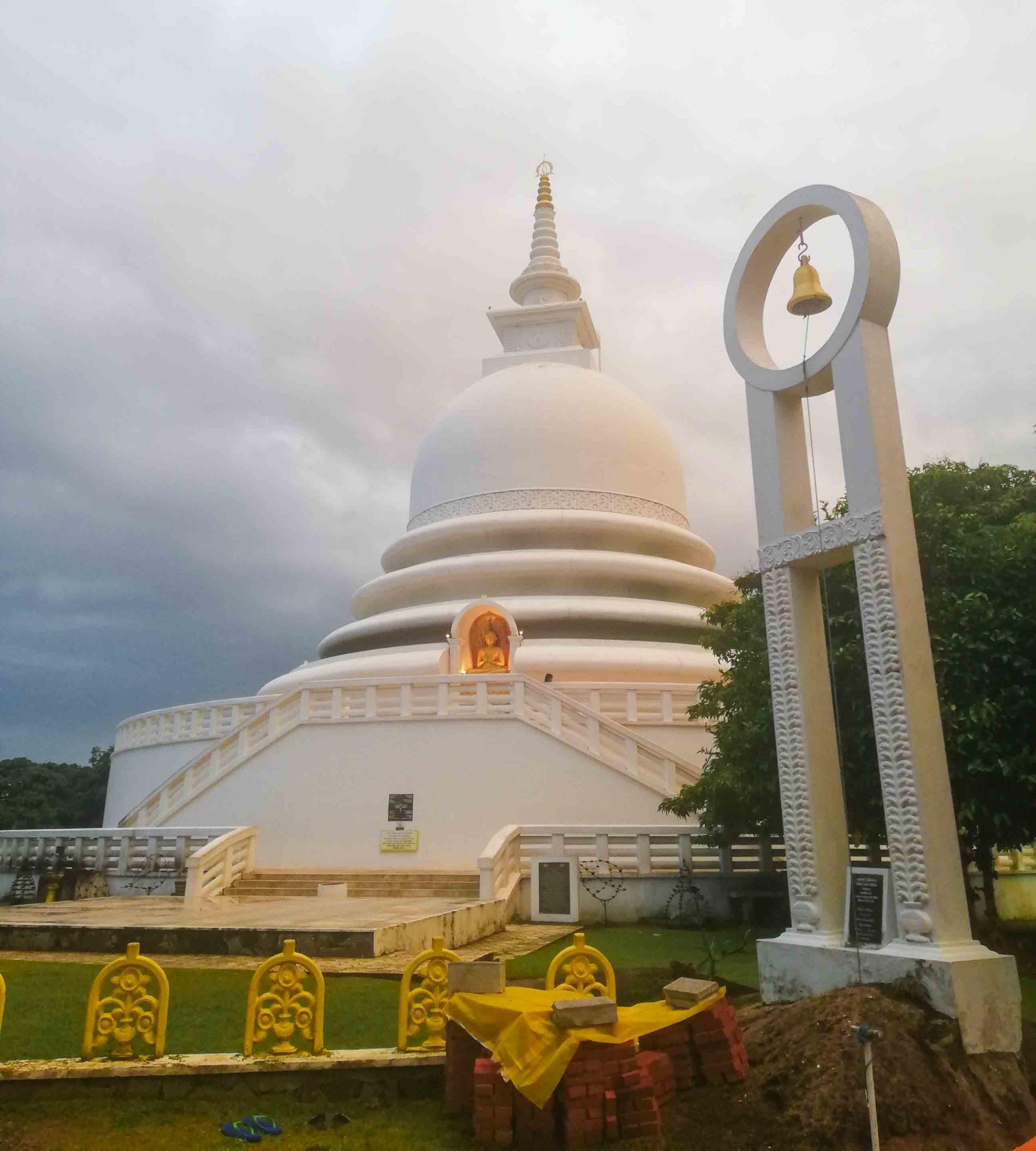 японская пагода мира унаватуна фото