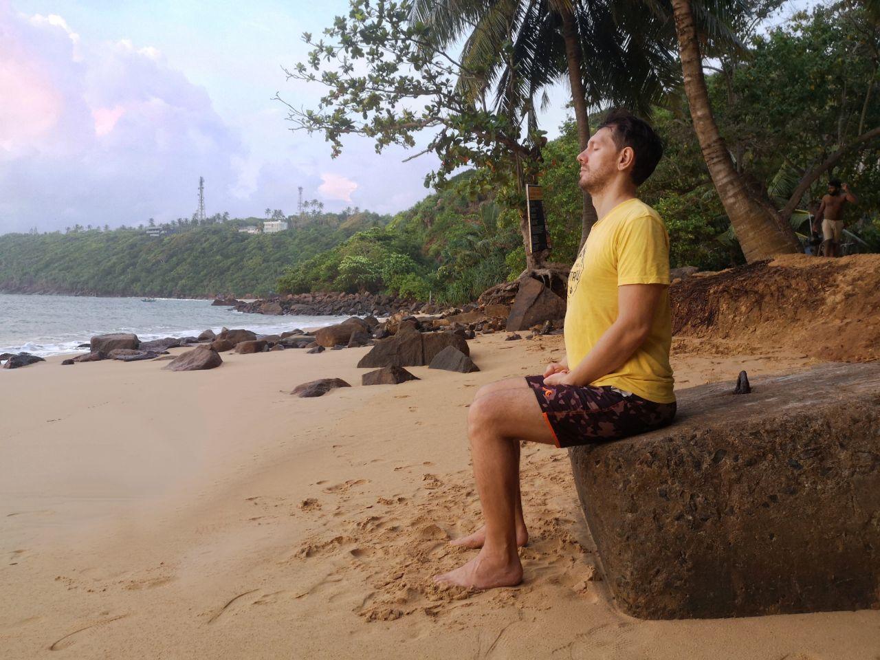 поза в медитации
