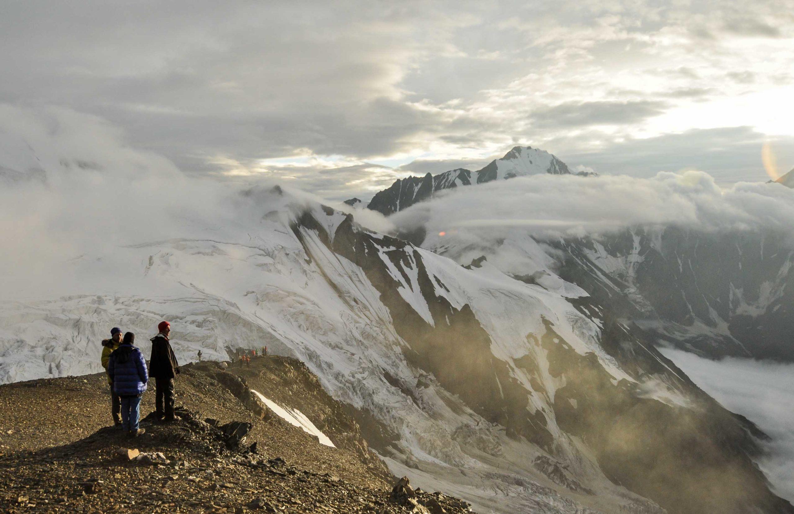 казбек гора где находится