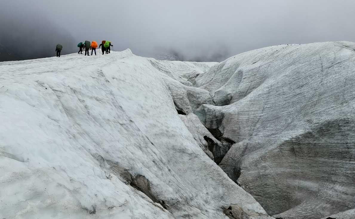 ледник Майли фото