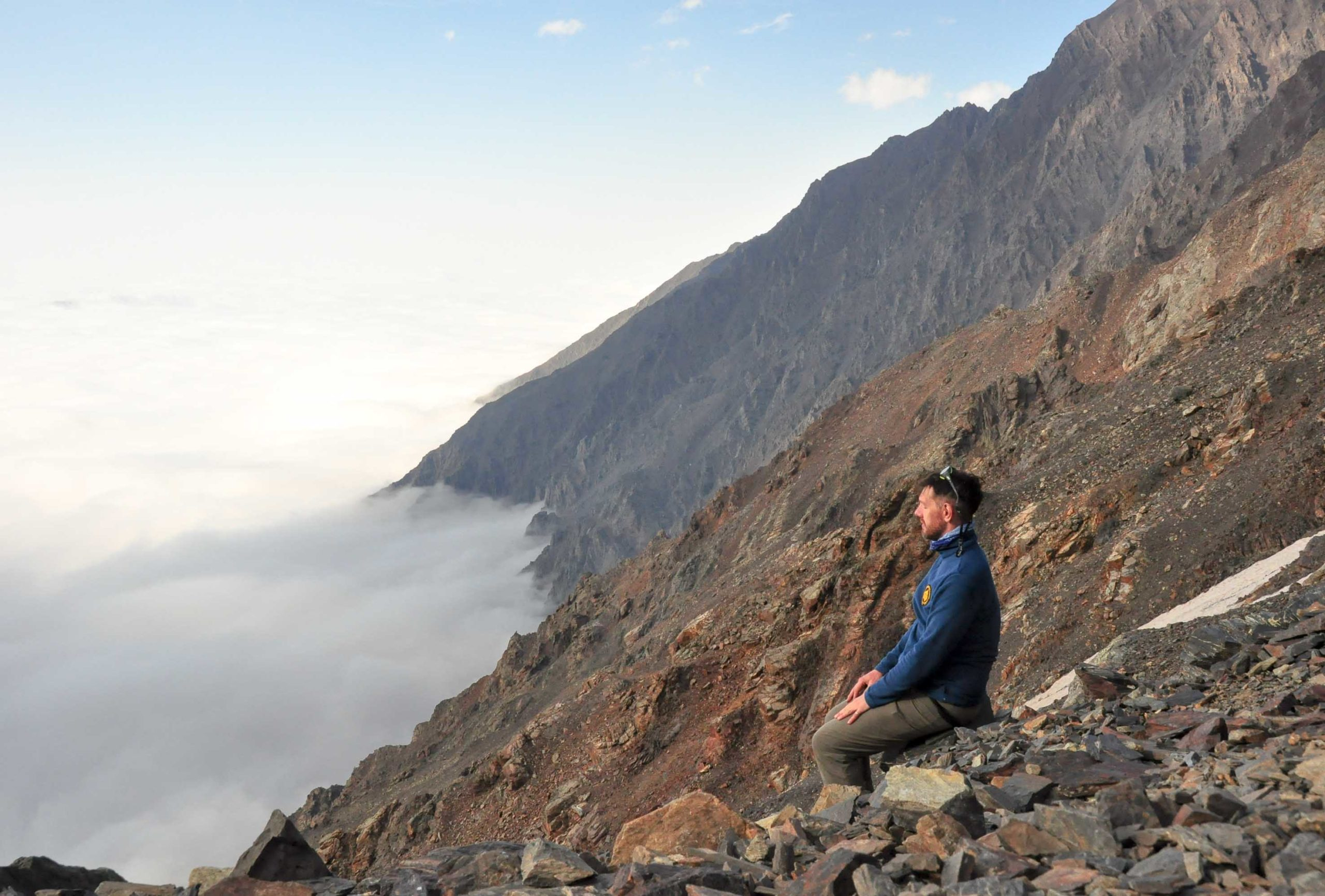медитация горы